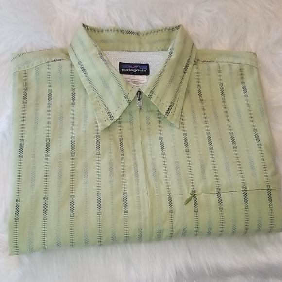 Patagonia Other - Patagonia Full Zip Rhythm Collar Shirt